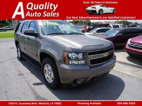 2012 Chevrolet Tahoe for sale at A Quality Auto Sales in Metairie LA