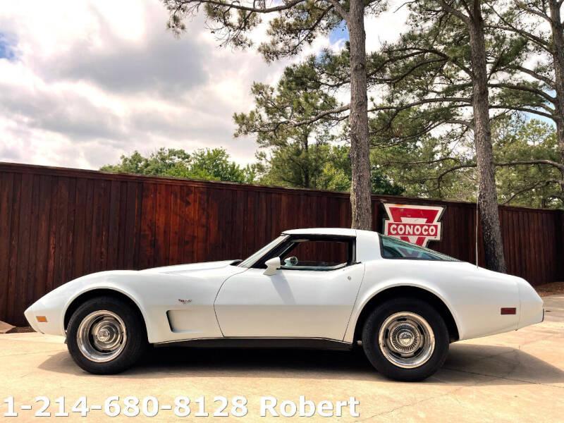 1979 Chevrolet Corvette for sale at Mr. Old Car in Dallas TX