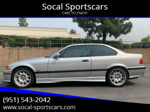 1999 BMW M3 for sale at Socal Sportscars in Covina CA