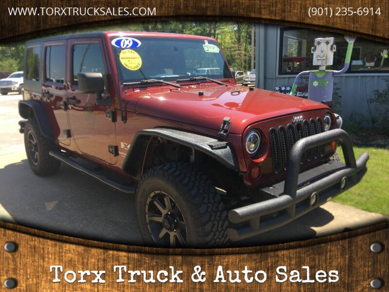 2009 Jeep Wrangler Unlimited for sale at Torx Truck & Auto Sales in Eads TN