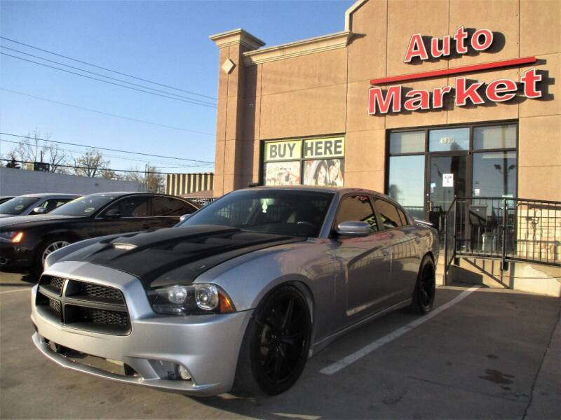 2014 Dodge Charger for sale at Auto Market in Oklahoma City OK