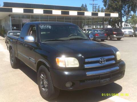 2003 Toyota Tundra for sale at Mendocino Auto Auction in Ukiah CA