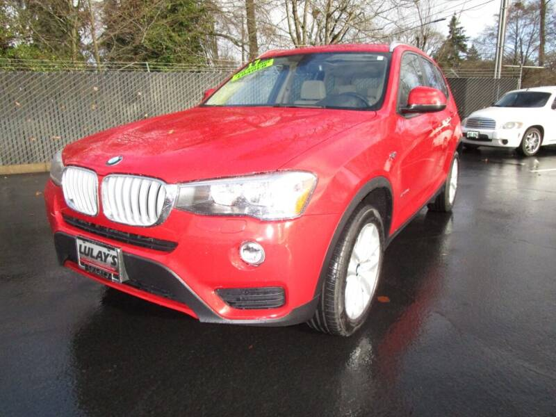 2017 BMW X3 for sale at LULAY'S CAR CONNECTION in Salem OR
