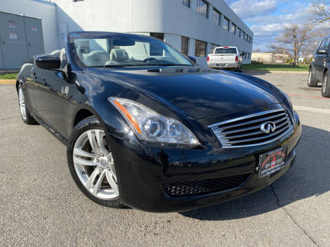 2009 Infiniti G37 Convertible for sale at JerseyMotorsInc.com in Teterboro NJ