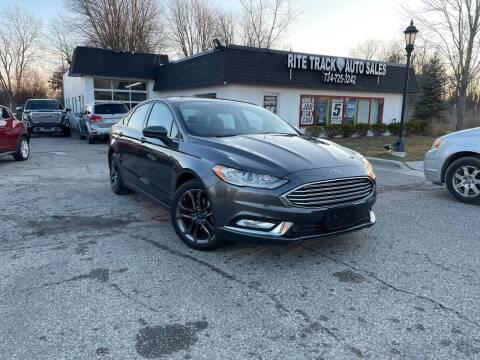 2018 Ford Fusion for sale at Rite Track Auto Sales in Canton MI