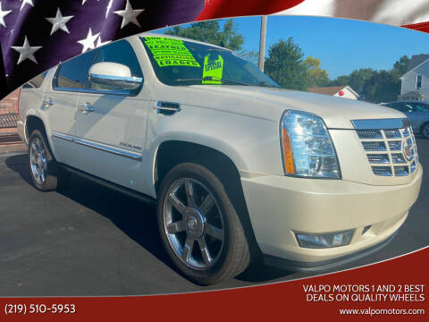 2011 Cadillac Escalade for sale at Valpo Motors 1 and 2  Best Deals On Quality Wheels in Valparaiso IN