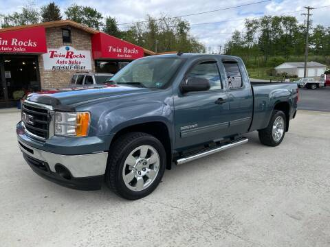 2010 GMC Sierra 1500 for sale at Twin Rocks Auto Sales LLC in Uniontown PA