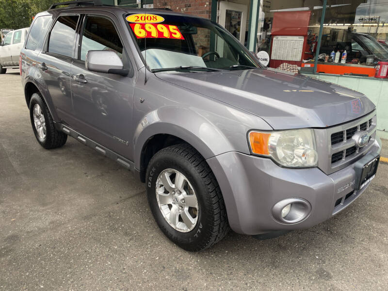 2008 Ford Escape for sale at Low Auto Sales in Sedro Woolley WA