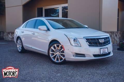 2016 Cadillac XTS for sale at Mcandrew Motors in Arlington TX