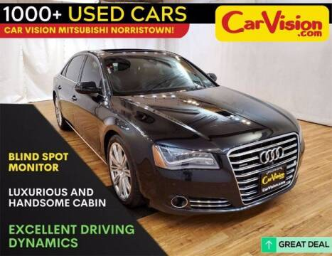 2014 Audi A8 L for sale at Car Vision Buying Center in Norristown PA