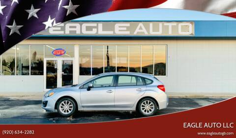 2014 Subaru Impreza for sale at Eagle Auto LLC in Green Bay WI