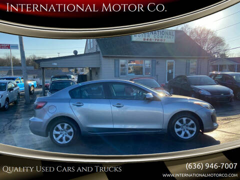 2012 Mazda MAZDA3 for sale at International Motor Co. in St. Charles MO