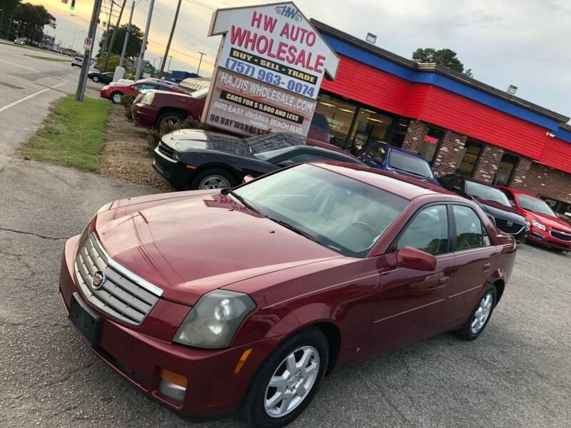 2006 Cadillac CTS for sale at HW Auto Wholesale in Norfolk VA