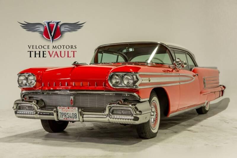 1958 Oldsmobile Super 88 for sale at Veloce Motors in San Diego CA