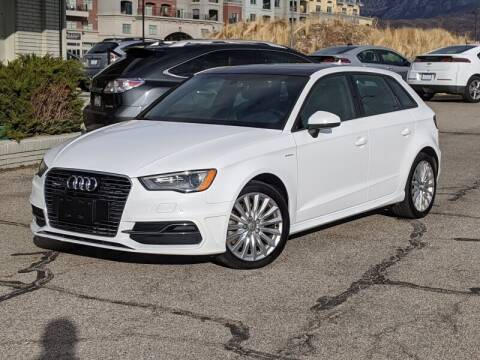 2016 Audi A3 Sportback e-tron for sale at Clean Fuels Utah in Orem UT