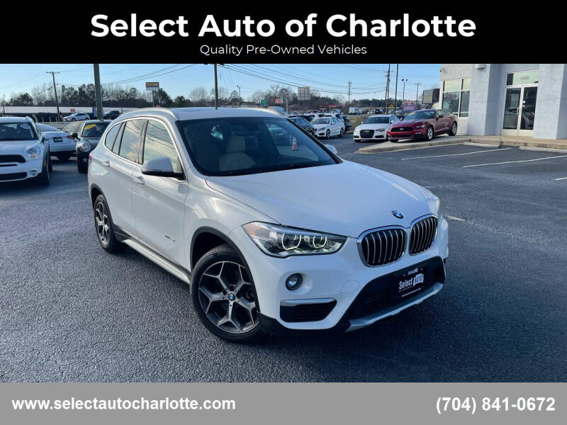 2017 BMW X1 for sale at Select Auto of Charlotte in Matthews NC