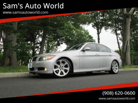2006 BMW 3 Series for sale at Sam's Auto World in Roselle NJ