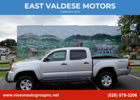2008 Toyota Tacoma for sale at EAST VALDESE MOTORS in Valdese NC