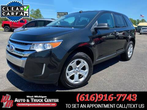2014 Ford Edge for sale at West Michigan Auto and Truck Center in Cedar Springs MI