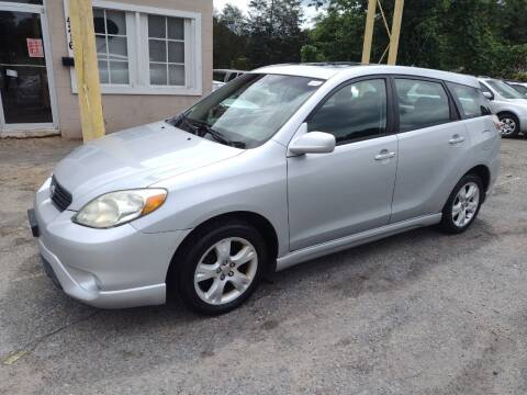 2005 Toyota Matrix for sale at Sparks Auto Sales Etc in Alexis NC