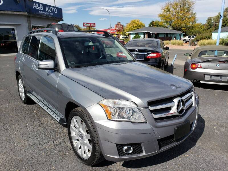 2012 Mercedes-Benz GLK for sale at A & B Auto in Lakewood CO