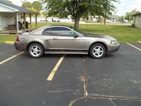 2002 Ford Mustang for sale at R V Used Cars LLC in Georgetown OH
