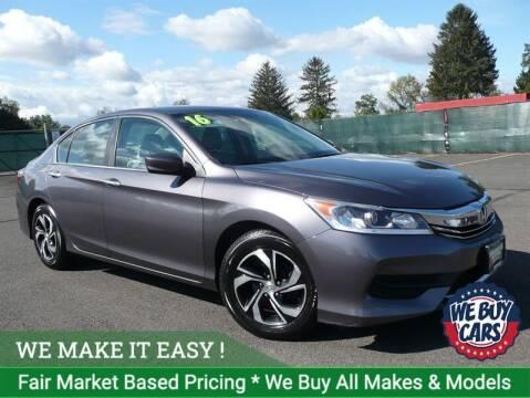 2016 Honda Accord for sale at Shamrock Motors in East Windsor CT