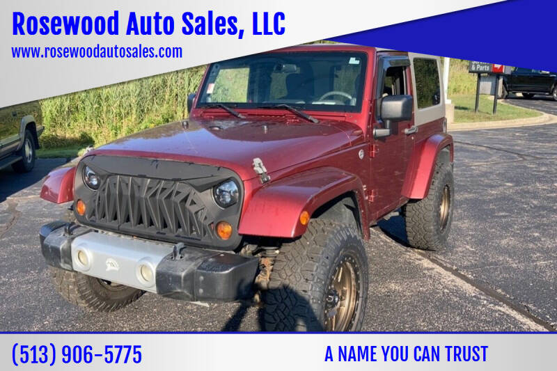 2009 Jeep Wrangler for sale at Rosewood Auto Sales, LLC in Hamilton OH