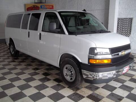 2019 Chevrolet Express Passenger for sale at Schalk Auto Inc in Albion NE