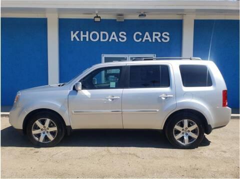 2014 Honda Pilot for sale at Khodas Cars in Gilroy CA