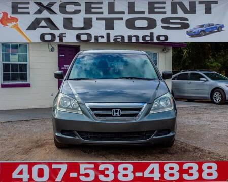 2007 Honda Odyssey for sale at Excellent Autos of Orlando in Orlando FL