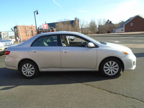 2013 Toyota Corolla for sale at Broadway Auto Services in New Britain CT