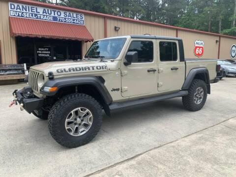 2020 Jeep Gladiator for sale at Daniel Used Auto Sales in Dallas GA