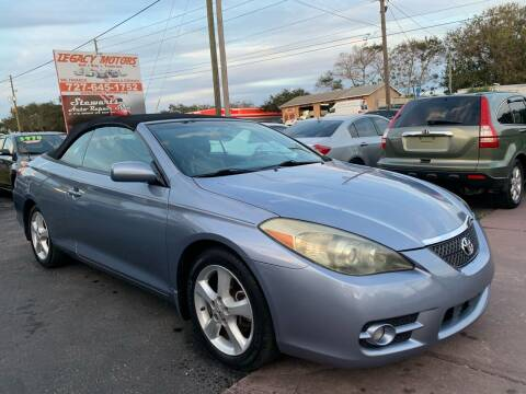 2007 Toyota Camry Solara for sale at LEGACY MOTORS INC in New Port Richey FL