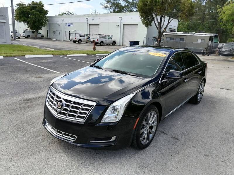 2014 Cadillac XTS for sale at Best Price Car Dealer in Hallandale Beach FL