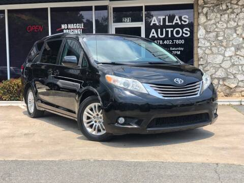 2011 Toyota Sienna for sale at ATLAS AUTOS in Marietta GA