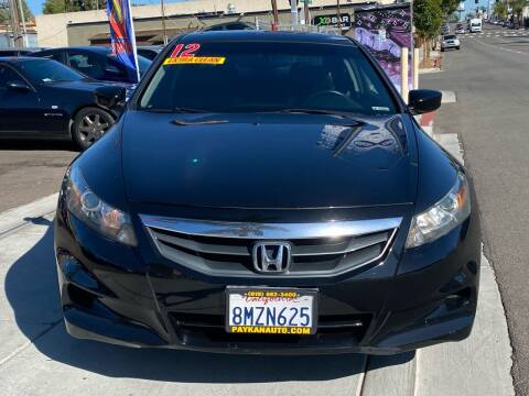 2012 Honda Accord for sale at Paykan Auto Sales Inc in San Diego CA