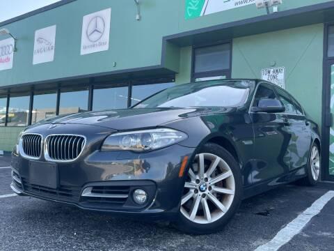 2015 BMW 5 Series for sale at KARZILLA MOTORS in Oakland Park FL