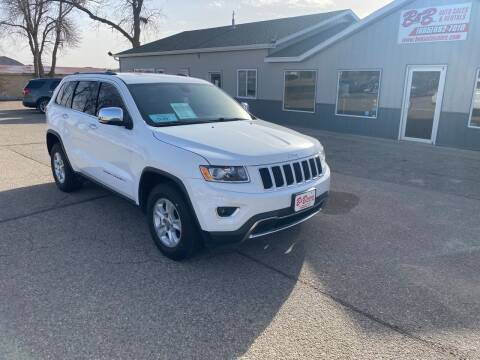 2015 Jeep Grand Cherokee for sale at B & B Auto Sales in Brookings SD