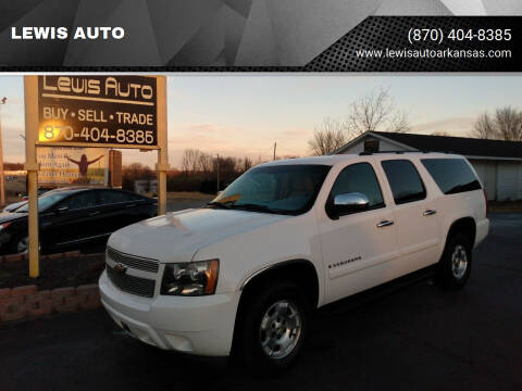 2007 Chevrolet Suburban for sale at LEWIS AUTO in Mountain Home AR