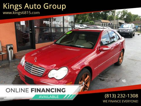 2007 Mercedes-Benz C-Class for sale at Kings Auto Group in Tampa FL