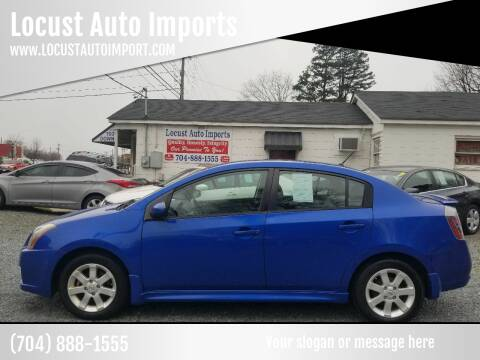 2010 Nissan Sentra for sale at Locust Auto Imports in Locust NC