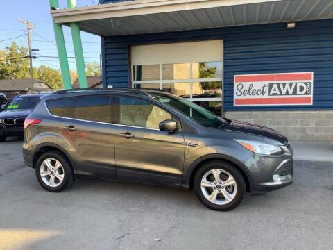2015 Ford Escape for sale at Select AWD in Provo UT