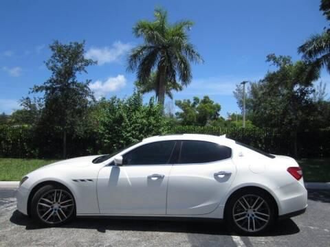 2015 Maserati Ghibli for sale at Auto Sport Group in Delray Beach FL
