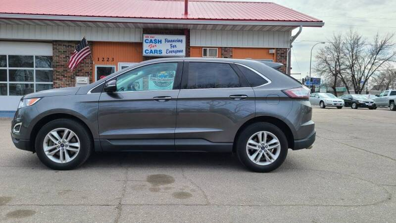 2016 Ford Edge for sale at Twin City Motors in Grand Forks ND
