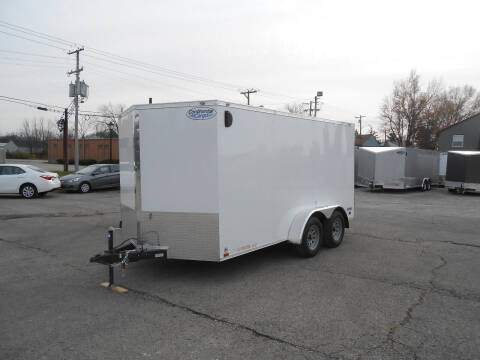 2021 Continental Cargo V-Series 7x14 for sale at Jerry Moody Auto Mart - Trailers in Jeffersontown KY