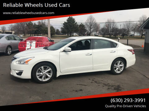 2015 Nissan Altima for sale at Reliable Wheels Used Cars in West Chicago IL