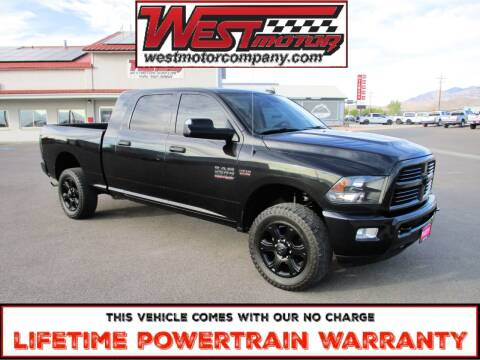 2015 RAM Ram Pickup 2500 for sale at West Motor Company in Hyde Park UT