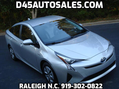 2016 Toyota Prius for sale at D45 Auto Brokers in Raleigh NC