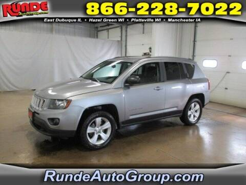 2015 Jeep Compass for sale at Runde PreDriven in Hazel Green WI